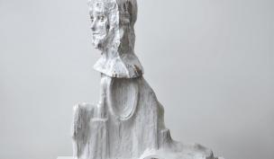 « Giotto » 2012‐2017, Grès,100x83x40 cm - Johan Tahon ©Gert Jan van Rooij