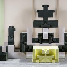 Il y a des coups d'œil qui sont toujours grands - 2016,  installation mix média: vidéo (8:36min), céramique et bois
