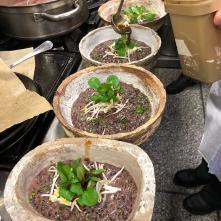 Vue de la performance culinaire Soirée de l'institut international de la Gravatologie - 2020