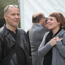 François Ruegg et Maud Schneider